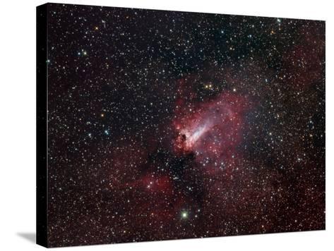 Omega Nebula-Stocktrek Images-Stretched Canvas Print