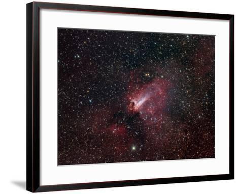Omega Nebula-Stocktrek Images-Framed Art Print