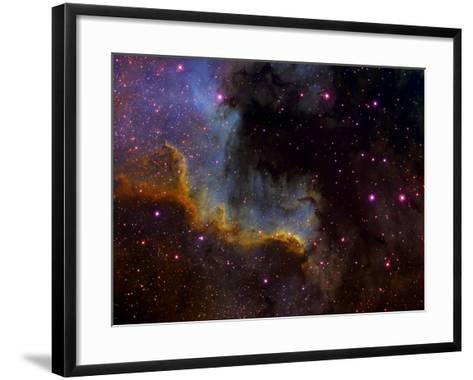 Close-Up View of North America Nebula-Stocktrek Images-Framed Art Print