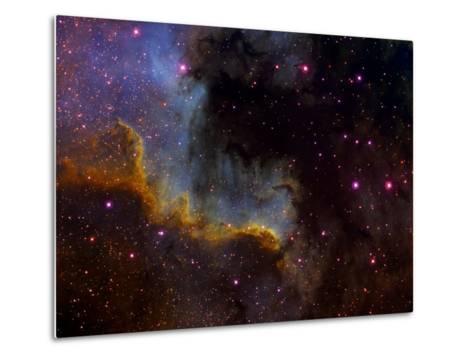 Close-Up View of North America Nebula-Stocktrek Images-Metal Print