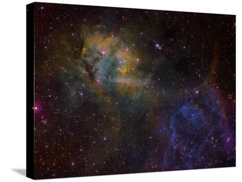 Sharpless 2-132 Emission Nebula-Stocktrek Images-Stretched Canvas Print