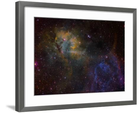 Sharpless 2-132 Emission Nebula-Stocktrek Images-Framed Art Print