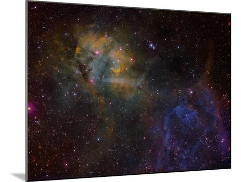 Sharpless 2-132 Emission Nebula-Stocktrek Images-Mounted Photographic Print