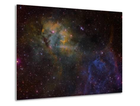 Sharpless 2-132 Emission Nebula-Stocktrek Images-Metal Print