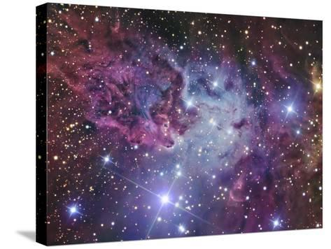 Fox Fur Nebula-Stocktrek Images-Stretched Canvas Print