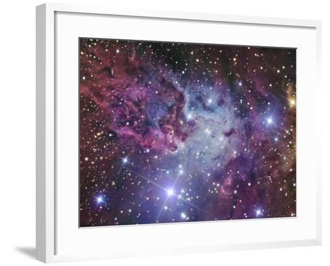 Fox Fur Nebula-Stocktrek Images-Framed Art Print