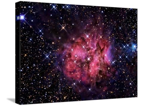 Cocoon Nebula-Stocktrek Images-Stretched Canvas Print
