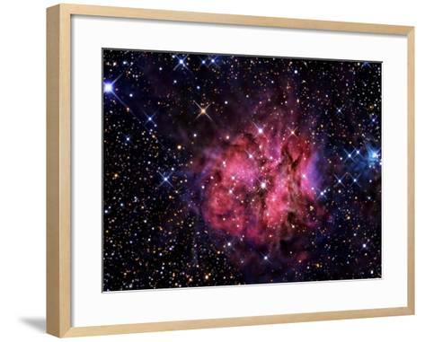 Cocoon Nebula-Stocktrek Images-Framed Art Print
