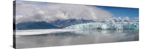 Overview of Disenchantment Bay and the Hubbard Glacier-Stocktrek Images-Stretched Canvas Print