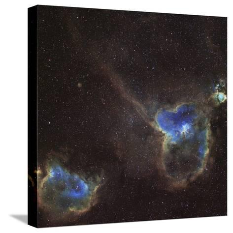 Heart and Soul Nebula-Stocktrek Images-Stretched Canvas Print