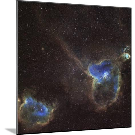 Heart and Soul Nebula-Stocktrek Images-Mounted Photographic Print