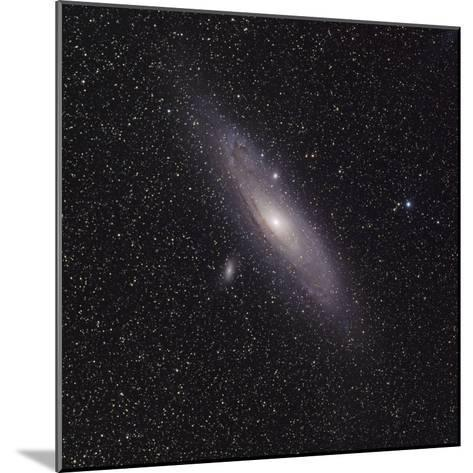 Andromeda Galaxy (M31) with Satellite Galaxies Messier 110 and Messier 32-Stocktrek Images-Mounted Photographic Print