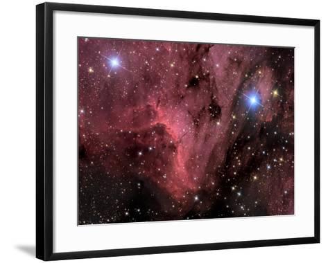 Pelican Nebula-Stocktrek Images-Framed Art Print