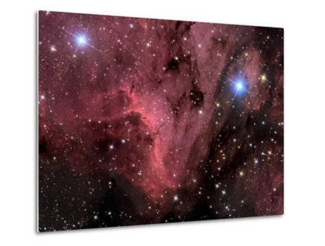 Pelican Nebula-Stocktrek Images-Metal Print