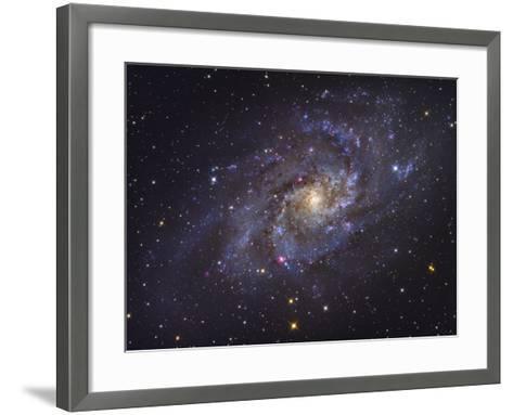 Triangulum Galaxy-Stocktrek Images-Framed Art Print