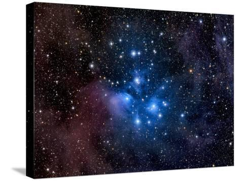 Pleiades, also known as the Seven Sisters-Stocktrek Images-Stretched Canvas Print