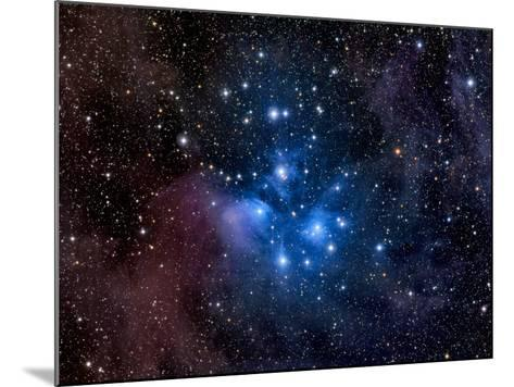 Pleiades, also known as the Seven Sisters-Stocktrek Images-Mounted Photographic Print