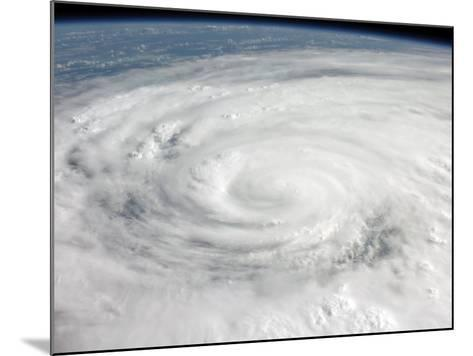 Hurricane Ike Covering More than Half of Cuba, from International Space Station-Stocktrek Images-Mounted Photographic Print