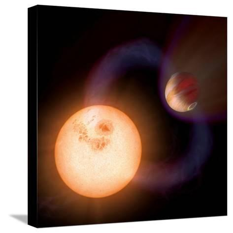 Artist's Impression of a Unique Type of Exoplanet-Stocktrek Images-Stretched Canvas Print