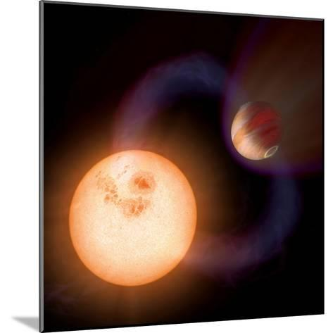 Artist's Impression of a Unique Type of Exoplanet-Stocktrek Images-Mounted Photographic Print