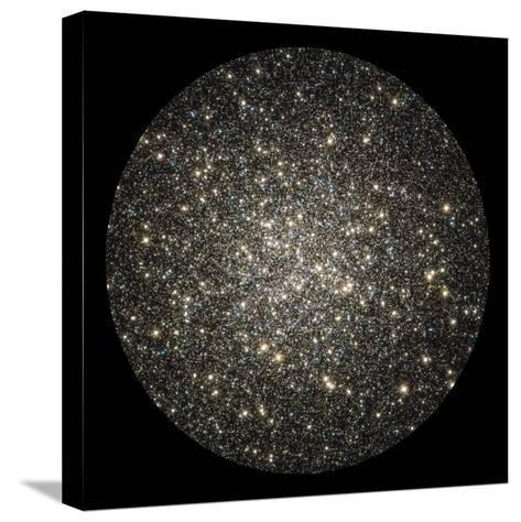 Globular Cluster M13-Stocktrek Images-Stretched Canvas Print