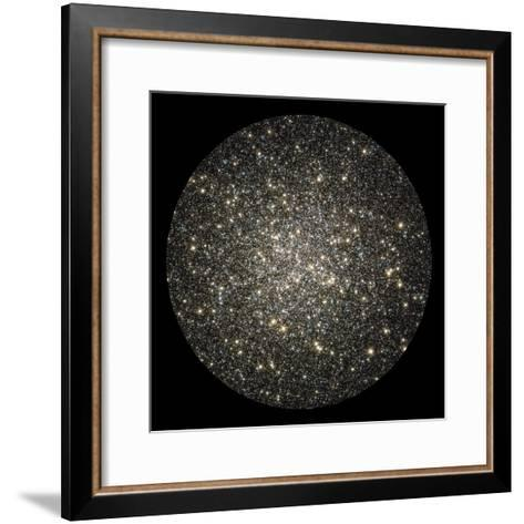 Globular Cluster M13-Stocktrek Images-Framed Art Print