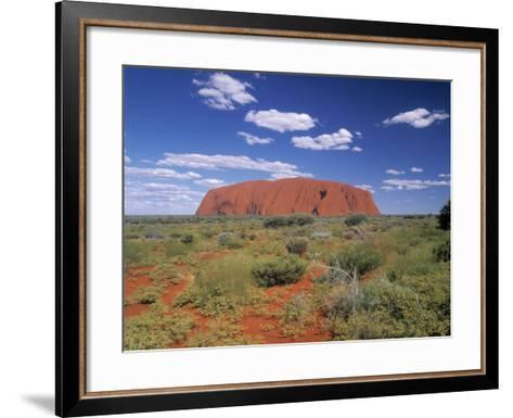 Ayers Rock, Northern Territory, Australia-Alan Copson-Framed Art Print