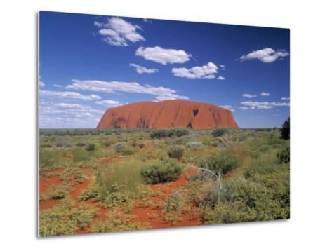 Ayers Rock, Northern Territory, Australia-Alan Copson-Metal Print