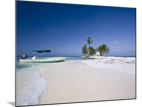 Beach, Silk Caye, Belize-Jane Sweeney-Mounted Photographic Print