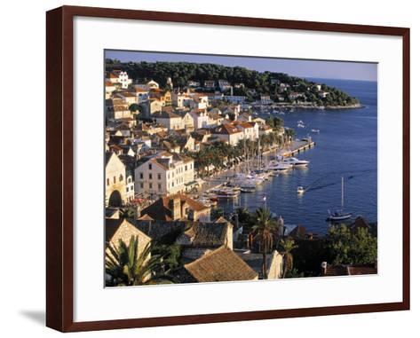 Hvar, Hvar Island, Croatia-Peter Adams-Framed Art Print