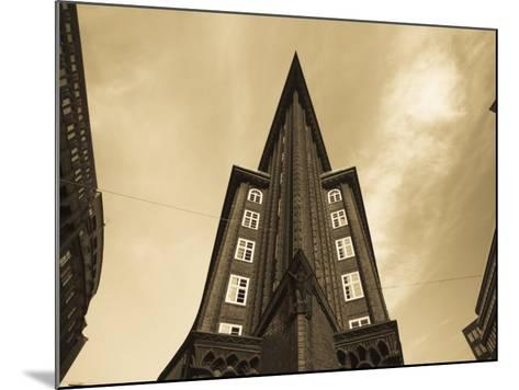 Chilehaus Office Building, Merchant District, Hamburg, State of Hamburg, Germany-Walter Bibikow-Mounted Photographic Print