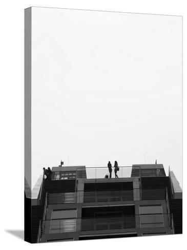 Hamburg Dockland Office Building, Elbmeile, Hamburg, State of Hamburg, Germany-Walter Bibikow-Stretched Canvas Print