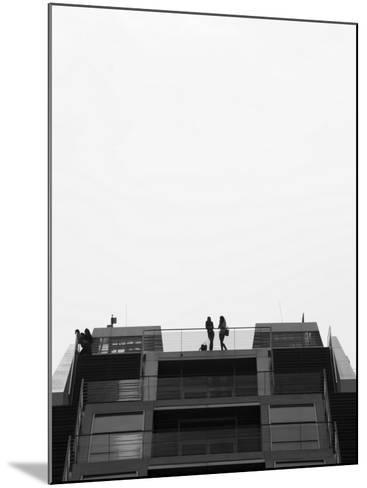 Hamburg Dockland Office Building, Elbmeile, Hamburg, State of Hamburg, Germany-Walter Bibikow-Mounted Photographic Print