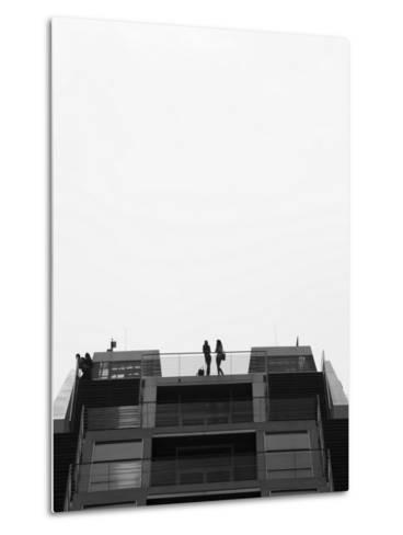 Hamburg Dockland Office Building, Elbmeile, Hamburg, State of Hamburg, Germany-Walter Bibikow-Metal Print