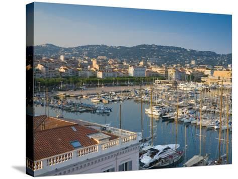 Cannes, Old Town Le Suquet, Vieux Port, Provence-Alpes-Cote D'Azur, France-Alan Copson-Stretched Canvas Print