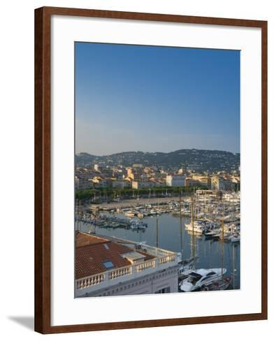 Cannes, Old Town Le Suquet, Vieux Port, Provence-Alpes-Cote D'Azur, France-Alan Copson-Framed Art Print