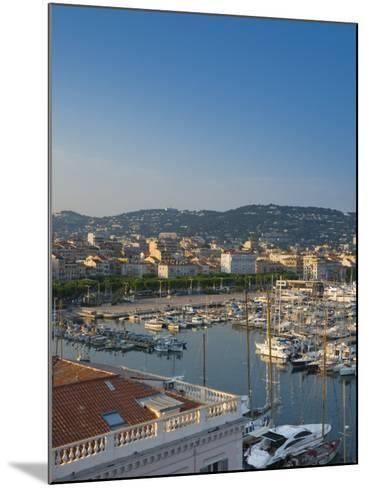 Cannes, Old Town Le Suquet, Vieux Port, Provence-Alpes-Cote D'Azur, France-Alan Copson-Mounted Photographic Print