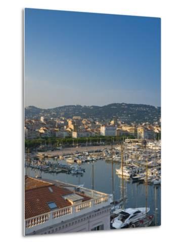 Cannes, Old Town Le Suquet, Vieux Port, Provence-Alpes-Cote D'Azur, France-Alan Copson-Metal Print