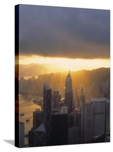 Central, Hong Kong, China-Demetrio Carrasco-Stretched Canvas Print