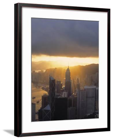 Central, Hong Kong, China-Demetrio Carrasco-Framed Art Print