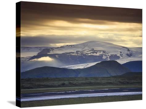 Vatnajokull Icecap Glacier, South Iceland-Michele Falzone-Stretched Canvas Print