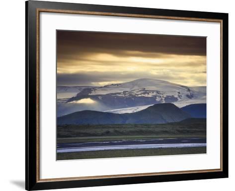 Vatnajokull Icecap Glacier, South Iceland-Michele Falzone-Framed Art Print
