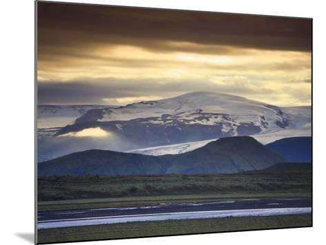 Vatnajokull Icecap Glacier, South Iceland-Michele Falzone-Mounted Photographic Print