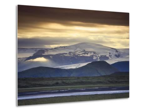 Vatnajokull Icecap Glacier, South Iceland-Michele Falzone-Metal Print
