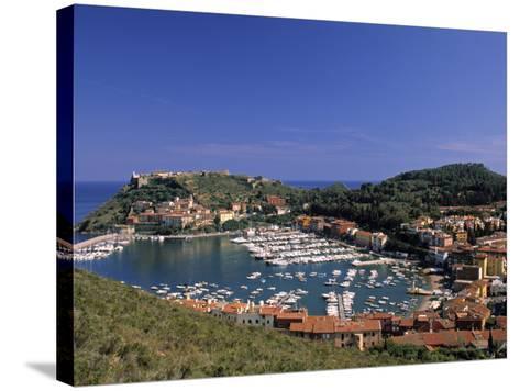 Porto Ercole, Promontorio Dell'Argentario, Tuscany, Italy-Walter Bibikow-Stretched Canvas Print