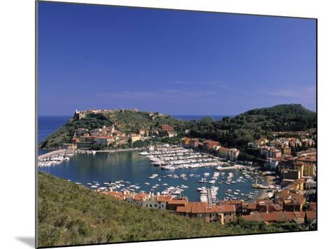 Porto Ercole, Promontorio Dell'Argentario, Tuscany, Italy-Walter Bibikow-Mounted Photographic Print