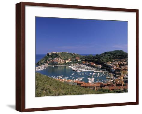 Porto Ercole, Promontorio Dell'Argentario, Tuscany, Italy-Walter Bibikow-Framed Art Print