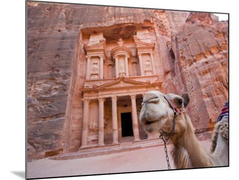 The Treasury, Petra, Jordan-Michele Falzone-Mounted Photographic Print