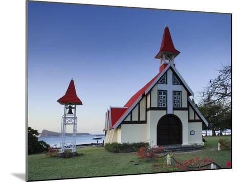Notre Dame Auxiliatrice Church, Cape Malheureux, Mauritius, Indian Ocean-Michele Falzone-Mounted Photographic Print