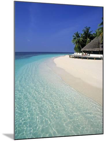 Tropical Beach, Maldives, Indian Ocean-Jon Arnold-Mounted Photographic Print